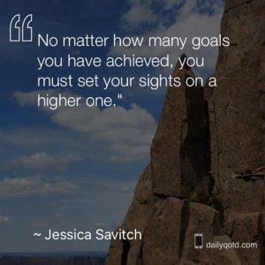 Setting Goals - Jessica Savitch