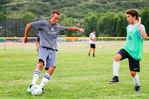High school Soccer Camp