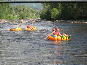Tubing the Yampa River with SSA